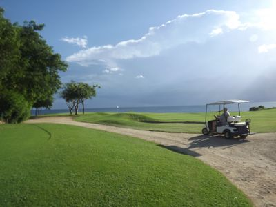 Seaside golf course