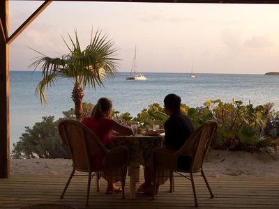 Share private intimate drinks & dining with the best Ocean view, food &service!