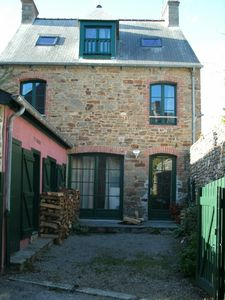 Charming  Briton House In A Village On The Rance River Next To St Malo FR
