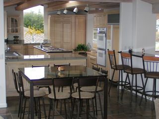Bodega Bay house photo - Dining Area, Bar & Kitchen - All with Water Views