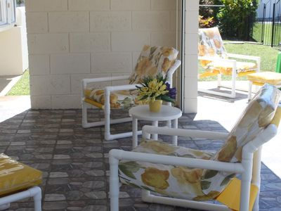 Rockley house rental - Covered Patio