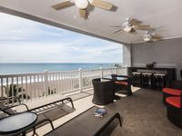 All inclusive beachfront condo with sweeping ocean views