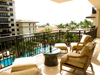 Ko Olina condo photo - Lanai and Lap Pool looking to Ocean