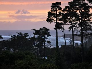 Carmel bungalow photo - One of many beautiful sunsets.