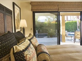 Rancho Mirage villa photo - guest suite with direct pool and garden access