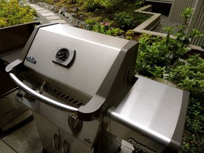 Gas BBQ available for your use