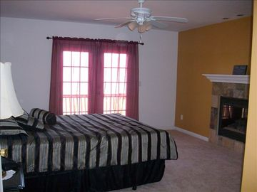 Master Bedroom,known as Grand Room with personal balcony