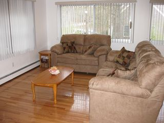 Family Room with brand new couches - Brewster cottage vacation rental photo