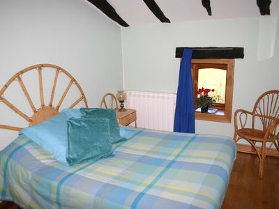 one of the three double bedrooms