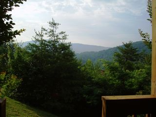 Wears Valley cabin photo - Lower Deck View