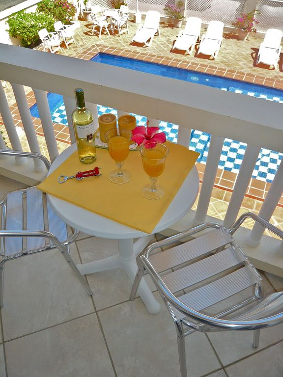 Sip a drink on your private balcony off your Master Bedroom.