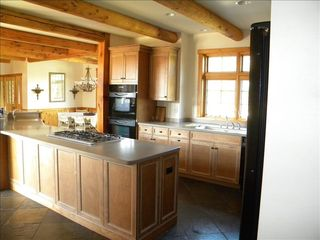 Menominee estate photo - Kitchen with double oven