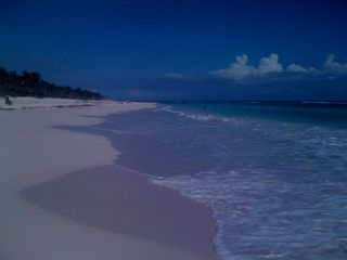 Akumal condo photo - A wild but quiet beach only 3 KM from us!