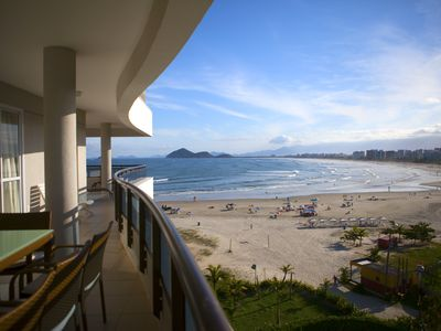 LINDO APTO FRONT OF THE SEA, LARGE VISTA RIVIERA, 4 DORM (3 STs), 230m2, AC, 10P