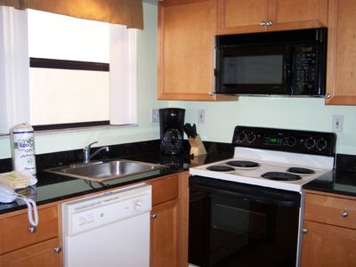 St Pete Beach condo rental - Great kitchen with full-size appliances