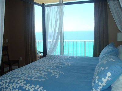 View of Gulf From the Master Bed