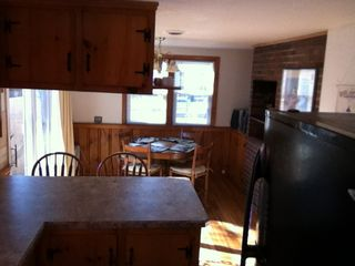 Dennisport cottage photo - Looking at the dining area from the kitchen