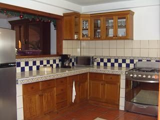 The fully equiped kitchen