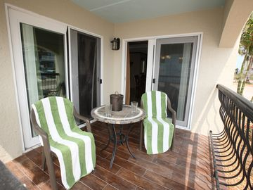 Relax and enjoy the ocean breeze from the patio
