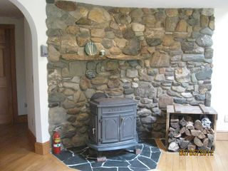 Swanville house photo - Wood Stove
