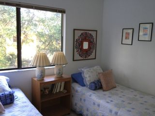 Fernandina Beach townhome photo - Fun, cozy room across from bath