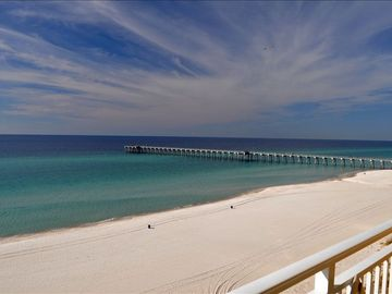 Sterling Reef Resort condo rental - View Of Gulf From Our Balcony