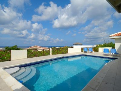 Bonaire villa rental - Private Pool