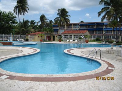 The Villas pool facilities include a children's pool as well.