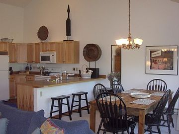 Another view of Dining Area and Kitchen