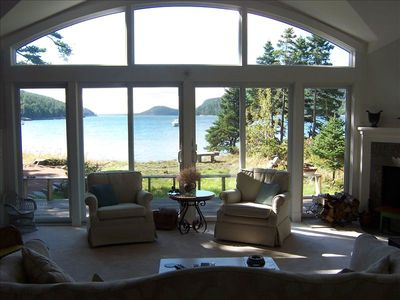 Front of great room looking down Somes Sound