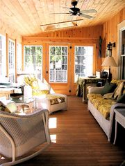 Lenox estate photo - Screened-in Country Porch