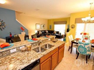 Paradise Palms townhome photo - Awesome kitchen, living, dining