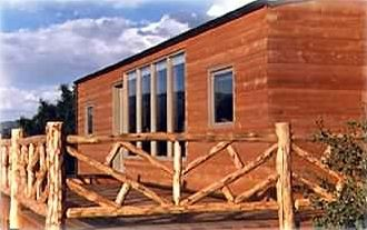 Private cabin is 8000 ft high in the Rockies & just 90 mi W. of Colorado Springs