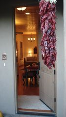 Santa Fe townhome photo - Front Door entrance is a warm welcome after a day outing.