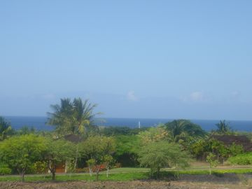 view from large lanai with views of Maui