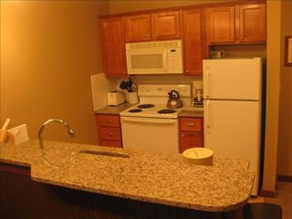 Full kitchen stocked with everything you need - Snowshoe Mountain condo vacation rental photo