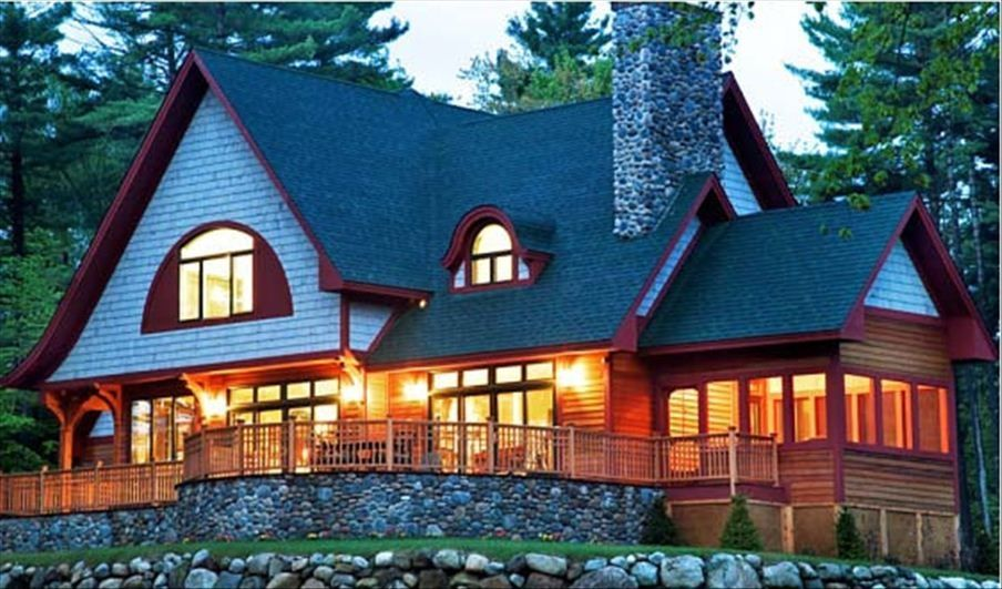 Sagamore golf house 5 star property w vrbo for Adirondack style homes