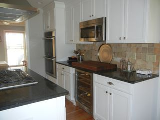Water Mill house photo - Kitchen with double oven and wine cooler