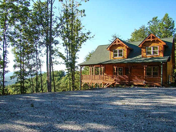 Gorgeous luxury custom built log cabin homeaway for Asheville nc luxury cabin rentals
