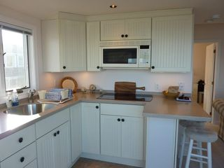 Provincetown condo photo - Fully outfitted kitchen with convection microwave