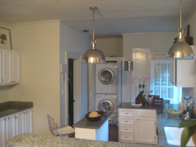 KITCHEN W/ WASHER AND DRYER, SS APPLIANCES, FULLY EQUIPPED FOR COOKING