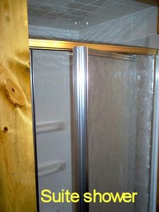 Suite large shower