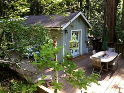 Photo for 1BR Cottage Vacation Rental in Guerneville, California