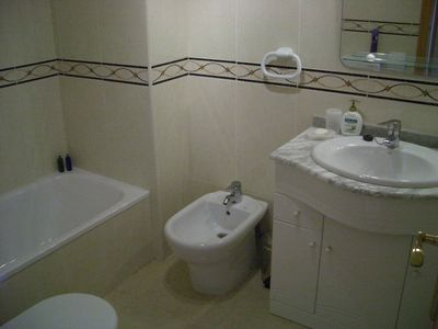 Calpe apartment rental - Main Bedroom En-Suite Bathroom