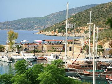 Kalkan Harbour is Just a Short Walk
