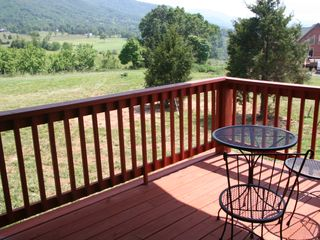 Luray cabin photo - View off Master bedroom balcony