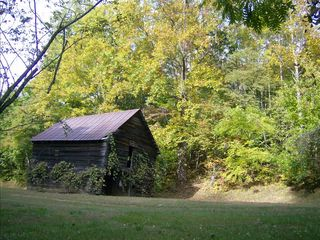 Asheville house photo - Antique cattle barn located on our property as you enter 18 acres of land.