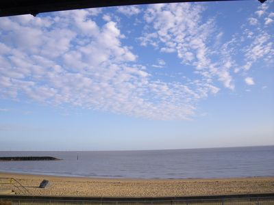 Clacton on Sea house rental - Sea view from balcony