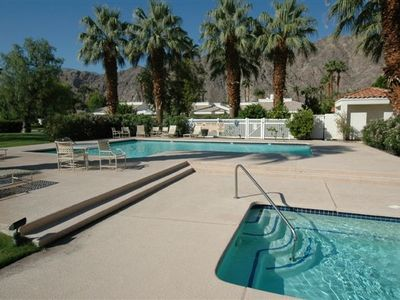Just steps away from 2 of the 52 pools & spas with stunning mtn. & lake views.
