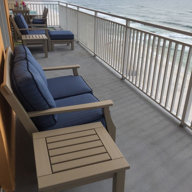 WINDSONG! 1500 sq ft, master bedrooms on Gulf + bunks and 340 sq ft balcony.